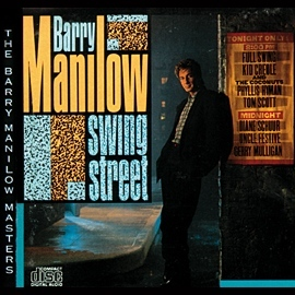 Barry Manilow Swing Street Album Artwork