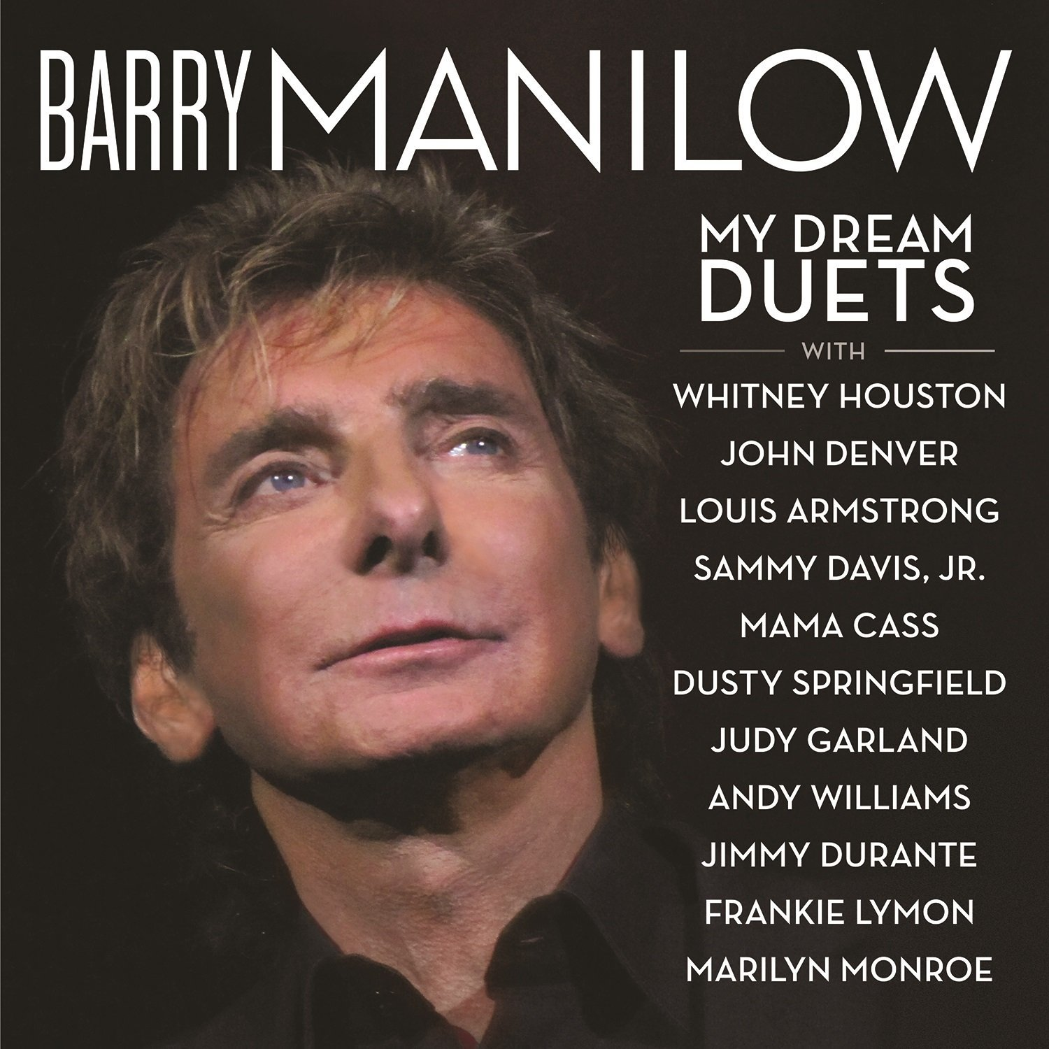 Barry Manilow My Dream Duets Album Artwork