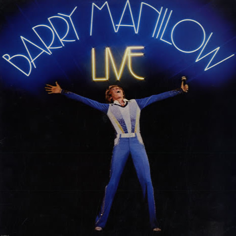 Barry Manilow Live The Real Square Cover Art