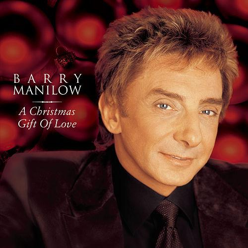 Barry Manilow A Christmas Gift of Love Album Artwork