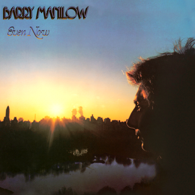 Barry Manilow Even Now Cover Art