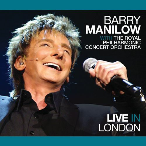 Barry Manilow Live in London Album Artwork