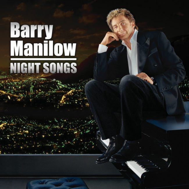 Barry Manilow Night Songs Album Artwork