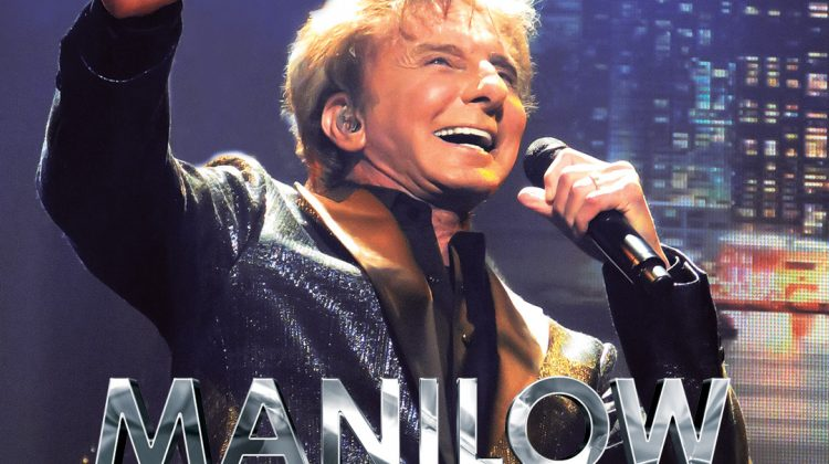 Manilow Las Vegas The Hits Come Home Cover