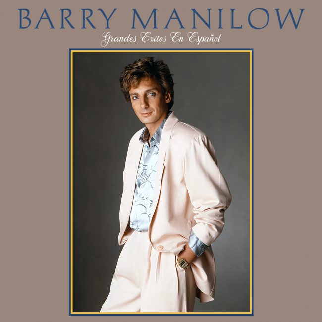 Barry Manilow Grandes Exitos En Espanol Album Cover