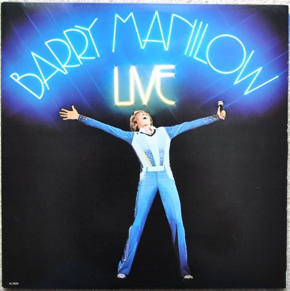 Barry Manilow Live (Legacy Edition) artwork